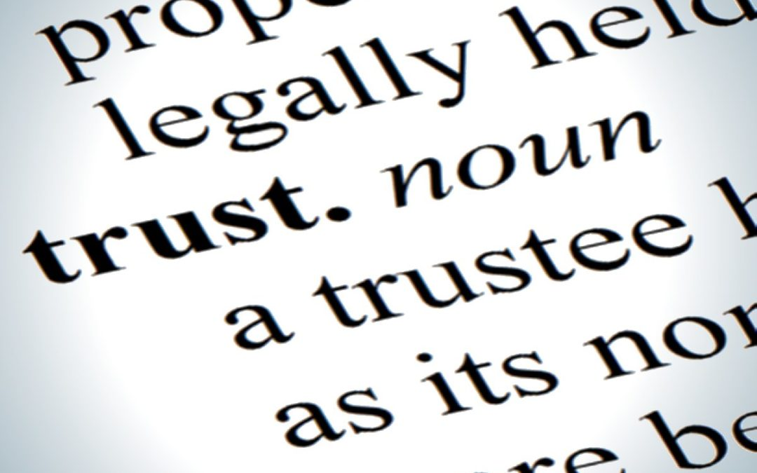 Thinking of setting up a Trust?