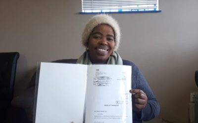 Khayelitsha home owners access title deeds for the first time